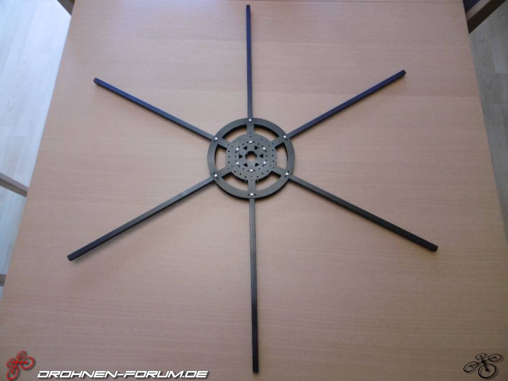 Eigenbau Hexacopter - Quadrocopter und Multicopter Eigenbau ...