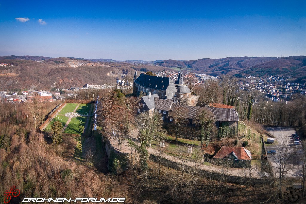 Schloss Hohenlimburg Luftaufnahmen Fotos Drohnen
