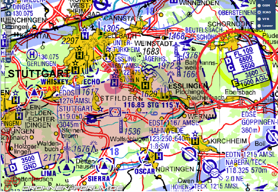 icao karte ICAO Karte verständnisfrage   Rechtliche / organisatorische Themen
