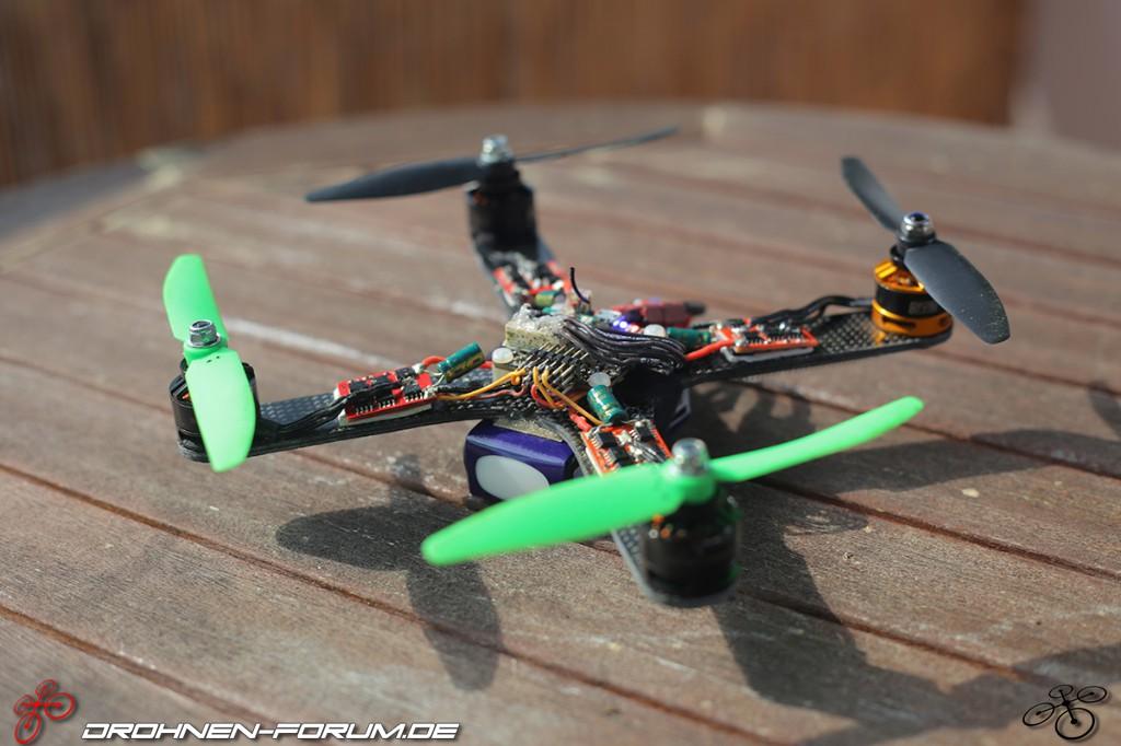 200mm Race-Quad - Projekt \